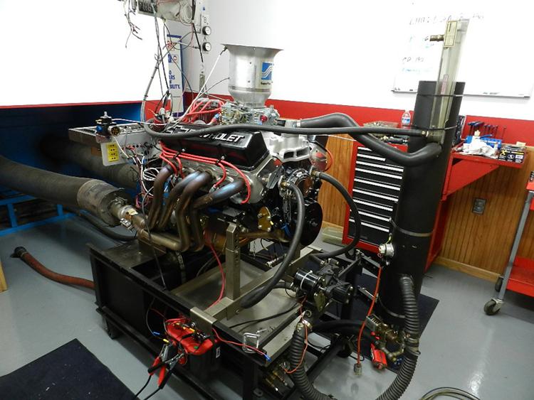 RCS Crate 406 HP500 T510 SB Chevy Carb