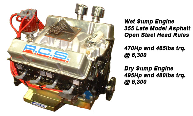 355 Asphalt Circle Track Engine